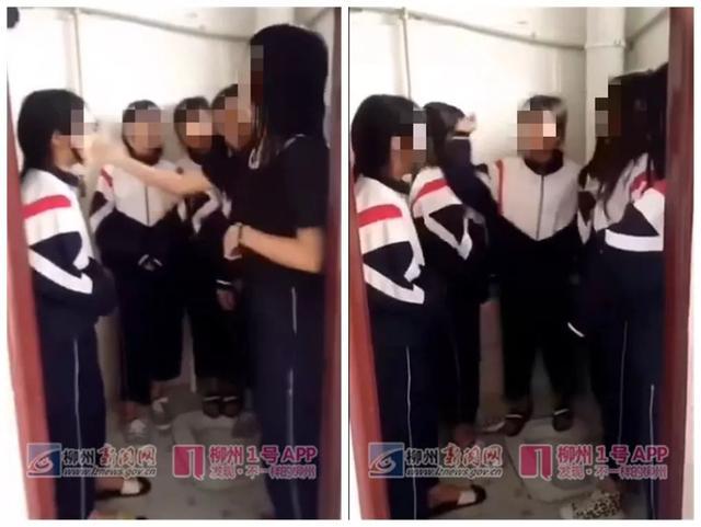 校园暴力再现!滨州初二女生厕所内被同学群殴_山东新闻_大众网