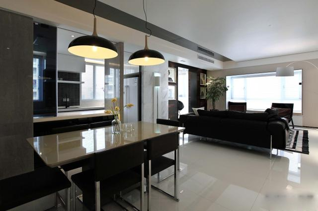 80平米简约风格二居室,预算9万,点击看效果图!-六运小区装修