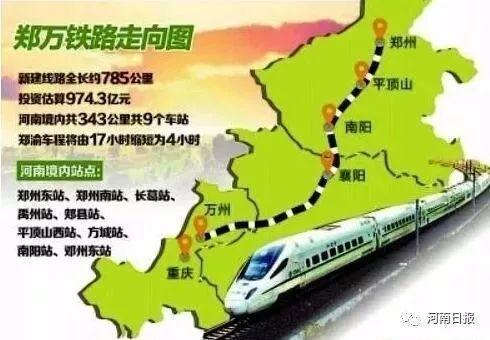 """郑万高铁南阳境内完成铺轨!南阳通高铁进入""""倒计时"""""""
