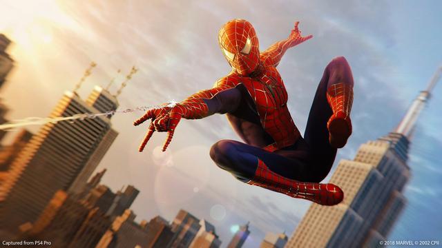 《漫威蜘蛛侠》蛛丝摆荡系统耗费三年打造 蜘蛛侠 游戏资讯 第1张