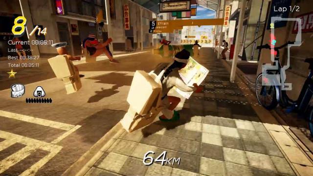日本沙雕游戏《激走!马桶竞速》将于今年8月20日发售 Steam 游戏资讯 第2张
