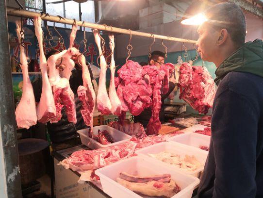 """寒潮来袭,猪肉羊肉""""待遇""""不同,普陀人最近都爱吃啥→"""