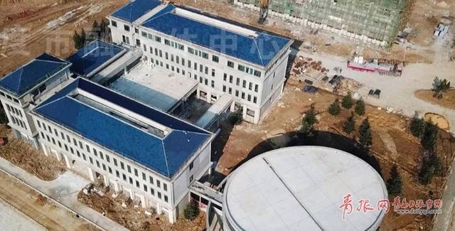 平度第一所大学新动态!青农大平度校区主体建筑已初具规模