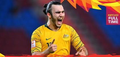 <b>1足球比分新闻-U23亚洲杯:澳大利亚1-0乌兹别克斯</b>