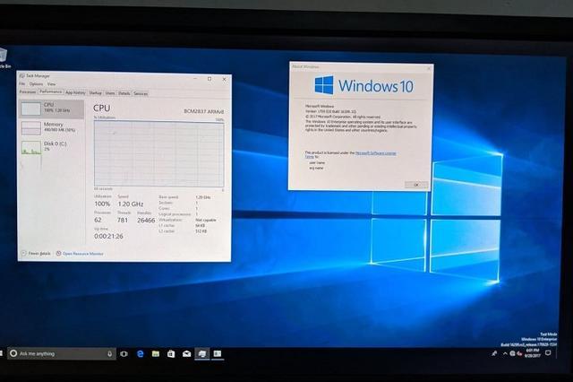 树莓派4迎来了运行Windows 10 ARM版的良好开局