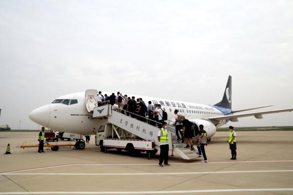东营机场复工包机保障人数累计达1892人次