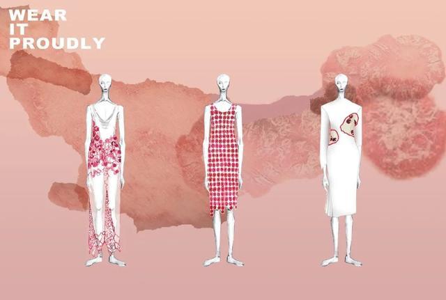 中国风服装系列效果图