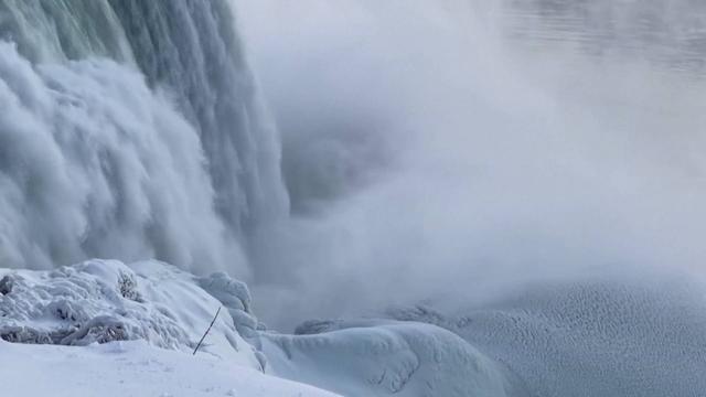 尼亚加拉瀑布秋天