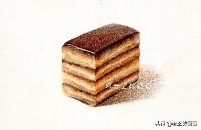 陕西油糕简笔画