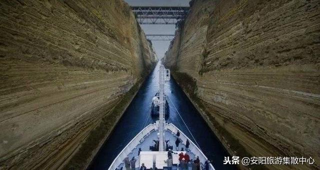 跨越1800年的工程-科林斯运河