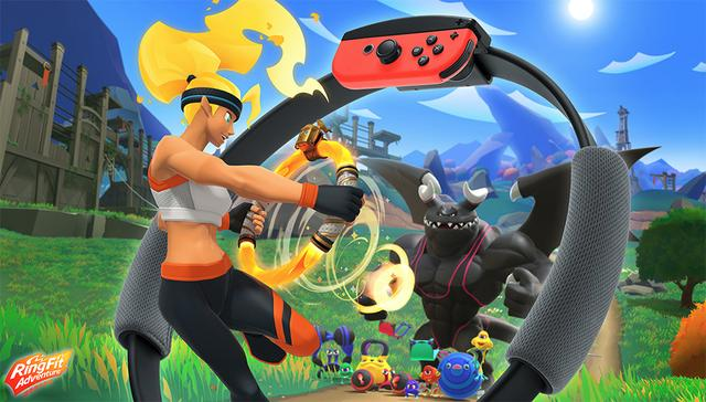 任天堂《健身环大冒险》是怎样的一款游戏? 任天堂 游戏资讯 第1张