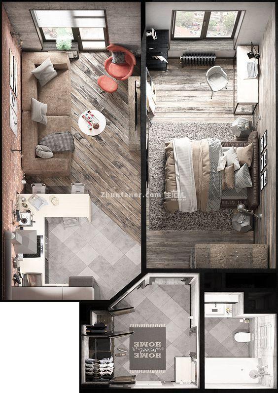北京整体家装案例,房子改造_创意点亮空间