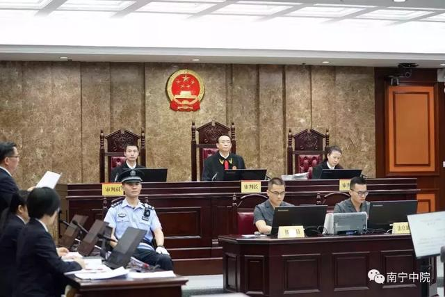 受贿1100多万元!广西水电集团原董事长梁寿龄受审-第1张图片