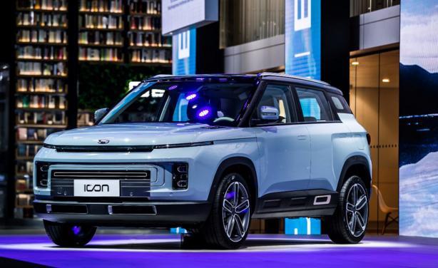 太科幻!售11.58万元 吉利概念车ICON正式上市