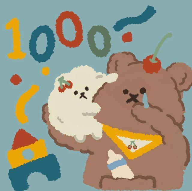 熊吃东西的动漫图片卡通图片,【卡通熊头像】超级卡哇伊的