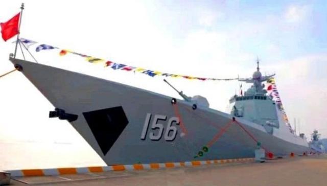 中国海军052d驱逐舰