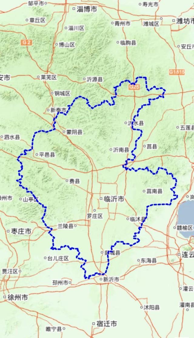 临沂罗庄地图全图