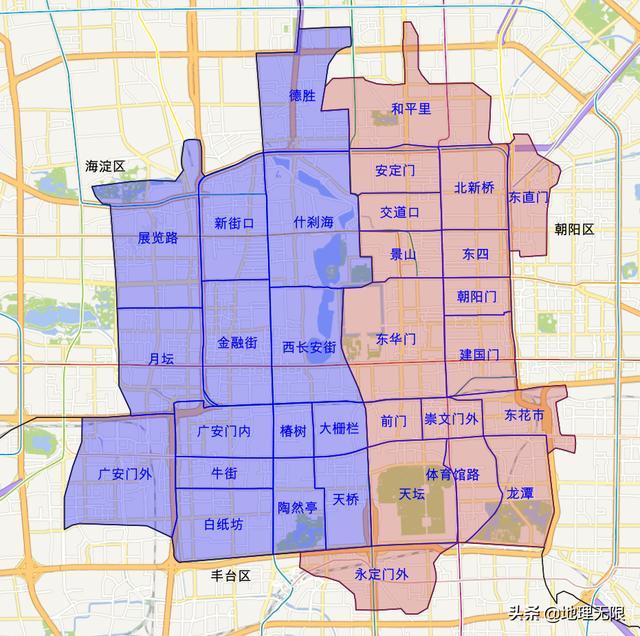 北京市地图全图