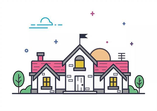 儿童绘画建筑物图片大全 房子简笔画绘画步骤◆肉丁儿童网