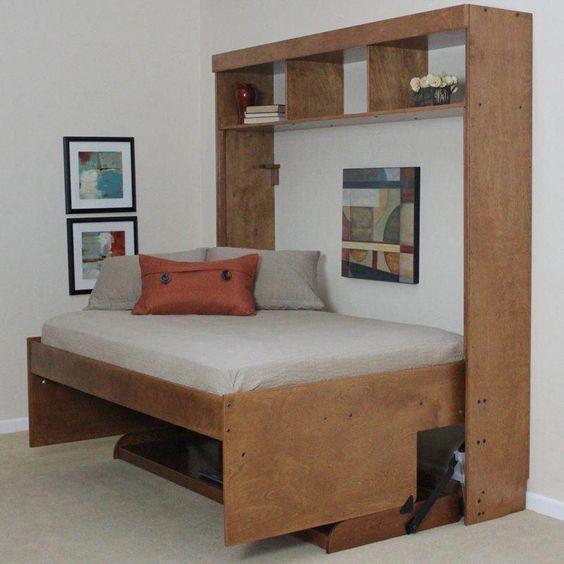 卧室床边桌效果图