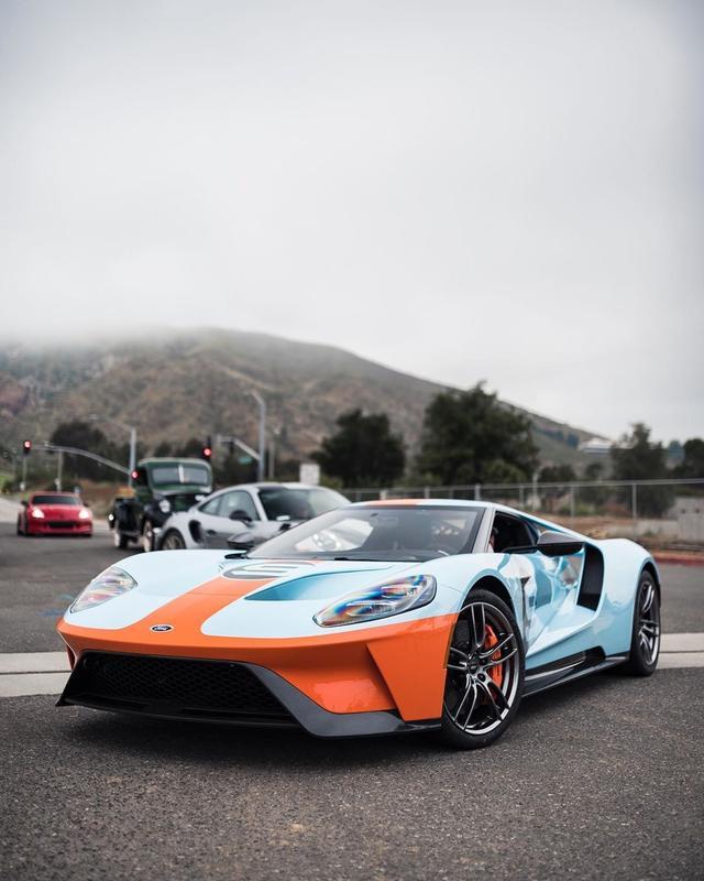 真正意义上的美式超级跑车,福特GT