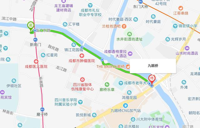 新南门车站到三岔镇