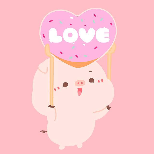 【可爱动漫卡通情头集】如果爱,就让自己每天都更爱对方一点魔方