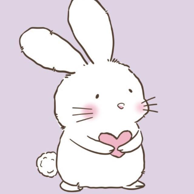 动漫女生头像,可爱如你兔子不吃香菜