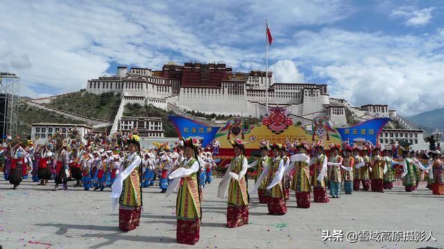 西藏布达拉宫图片正面