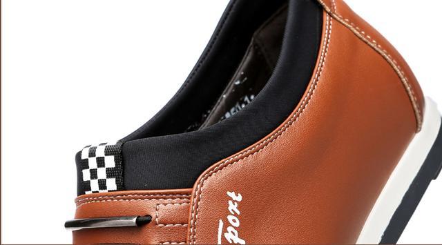 休闲增高男运动鞋