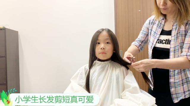 3-6岁女孩最简单剪刘海