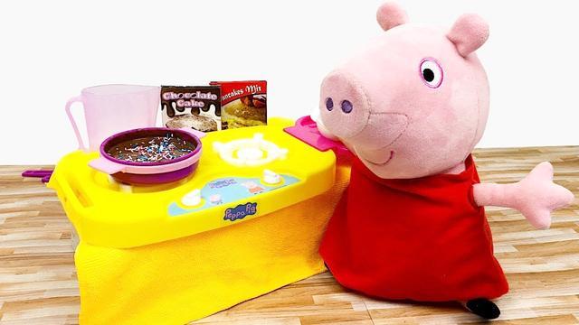 小猪佩奇巧克力豆