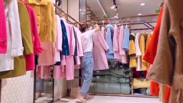 特价清仓29.9,厂家直销呢大衣品牌折扣女装库存尾货走份批发