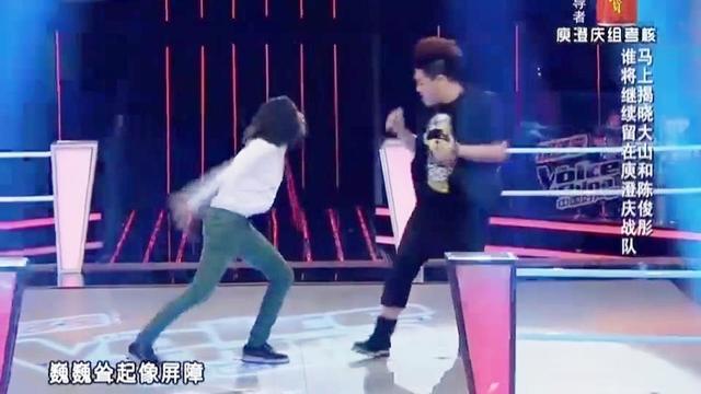 中国好声音:小小的身体,大大的能量,大山得到导师的一致好评!