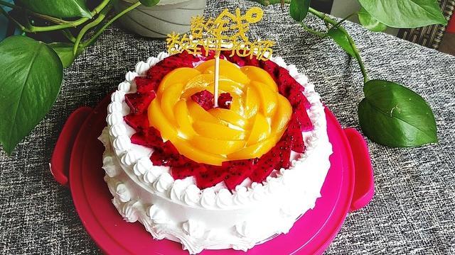 教你在家做生日蛋糕,經濟實惠又美味,配方和做法都給你,收藏著