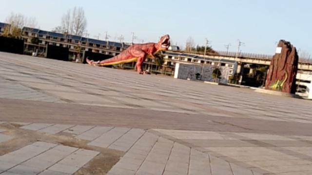 南阳西峡恐龙遗迹园,带你穿越时空来一场与恐龙的会面~