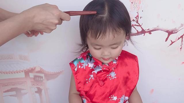 1一3岁短发女宝宝发型