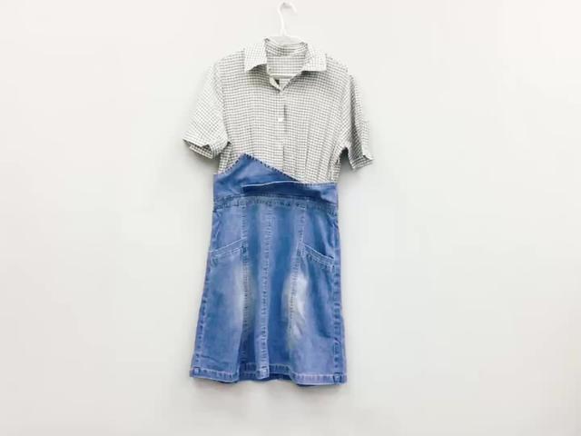 外贸原单大码棉麻连衣裙【多图】_价格_图片- 天猫精选