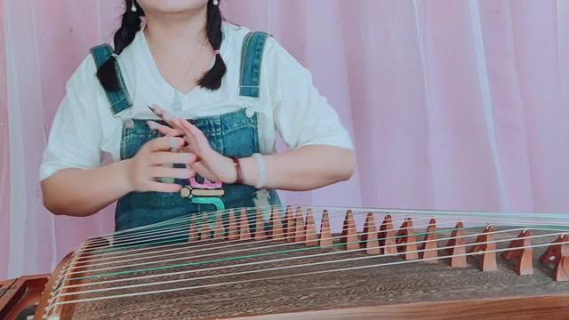 芒种古筝简谱d调视频