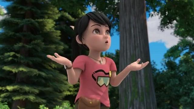 熊出没:熊二把赵琳扛起来,这是要干什么,把光头强吓坏了!