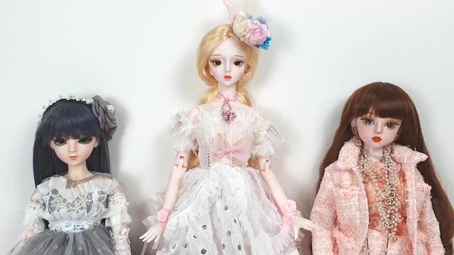 娃娃开箱视频:BJD球形关节娃娃SADOL YENA_网易视频