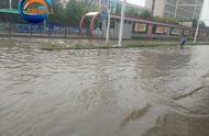 """郑州暴雨袭城,多路段成""""汪洋"""",雨量最大的是在这里……"""