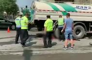 太原南十方街发生严重车祸,车主当场死亡,现场画面过于惨烈