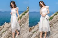 """别再穿""""仙女裙""""了,夏季更流行穿""""初恋裙"""",真的美炸了!"""