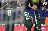 武磊2分钟闪击破门!西班牙人6-0淘汰卢塞恩,晋级欧联杯附加赛