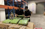 义乌海关查获超30万件涉嫌侵权货物