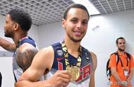 库里将首次参加2020的东京奥运会上为美国队夺冠又拼一图