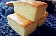 古早味蛋糕最经典的做法,不塌陷不开裂,柔软细腻,完美配方分享