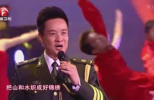 阎维文再唱经典《走进大别山》!声音无可挑剔,醇厚有力太好听!