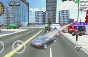 超凡青蛙蜘蛛侠:蜘蛛侠英雄绝对意想不到城市豪车也是非常脆弱?